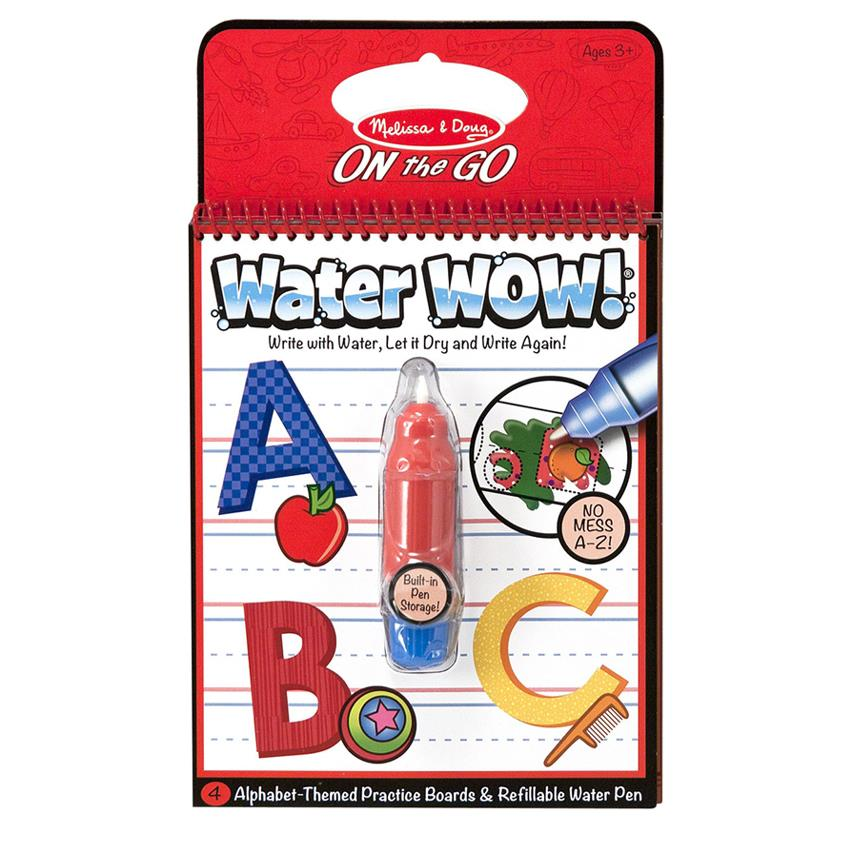 Water Wow Kid's Painting and Coloring Book Melissa & Doug (Alphabet)