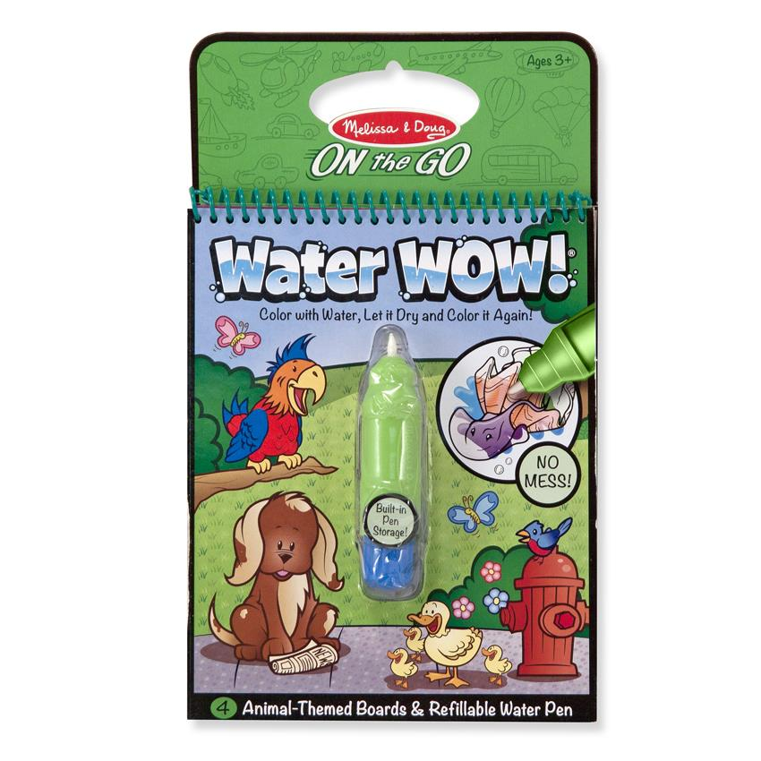 Water Wow Kid's Painting and Coloring Book Melissa & Doug (Animals)