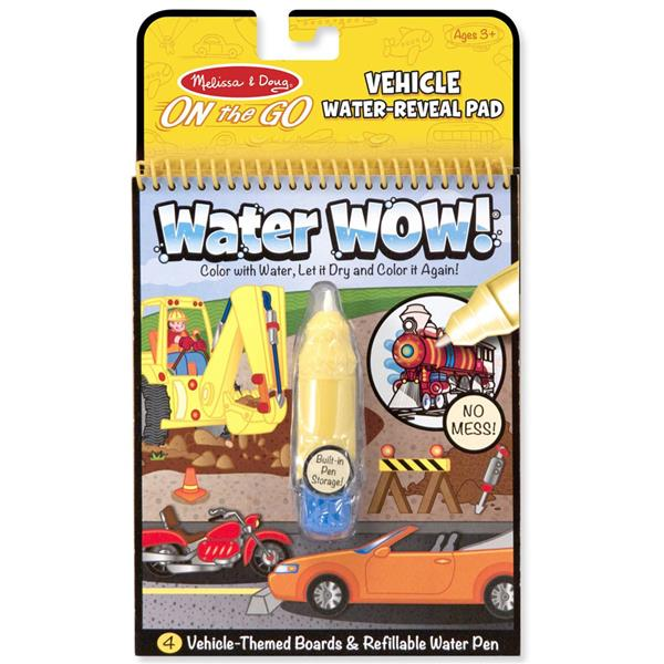 Water Wow Kid's Painting and Coloring Book Melissa & Doug (Vehicle)