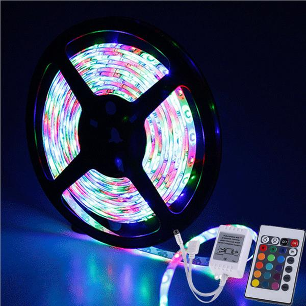 None-waterproof 3528 SMD RGB LED Strip String Rope