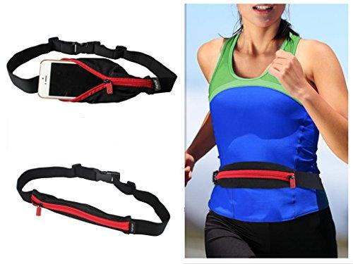 Waterproof Elastic Running/Jogging/Sports Waistband Belt Pouch Waist