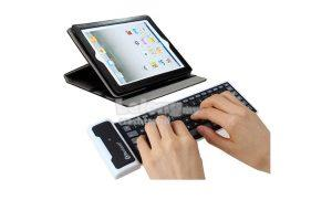Waterproof Silicone Bluetooth Keyboard (Free Shipping)