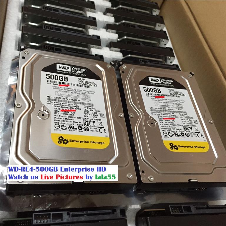 WD RE4 500GB Enterprise 3.5' Sata Desktop PC Hard Disk-^Ready Stock^