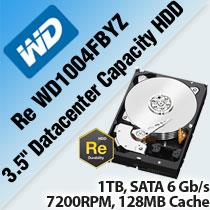 "WD RE WD1004FBYZ 3.5"" DATACENTER CAPACITY HDD"