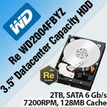 WD RE WD2004FBYZ 3.5' DATACENTER CAPACITY HDD