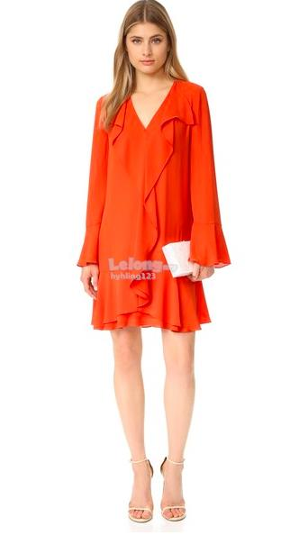 WD7193 Europe Fashion Dress ( 2 Colors )