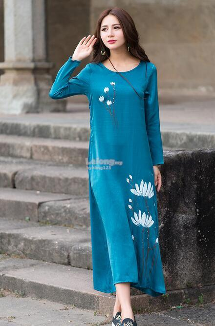 WD7416 Elegant Fashion Dress ( 2 Colors )