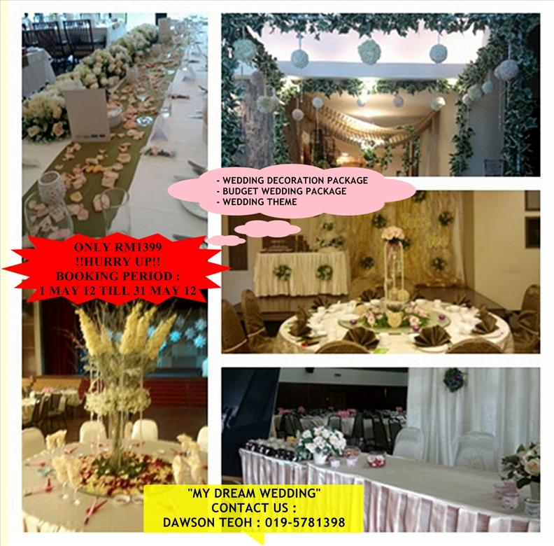 Wedding decoration wedding decor packages malaysia wedding decor packages malaysia junglespirit Gallery