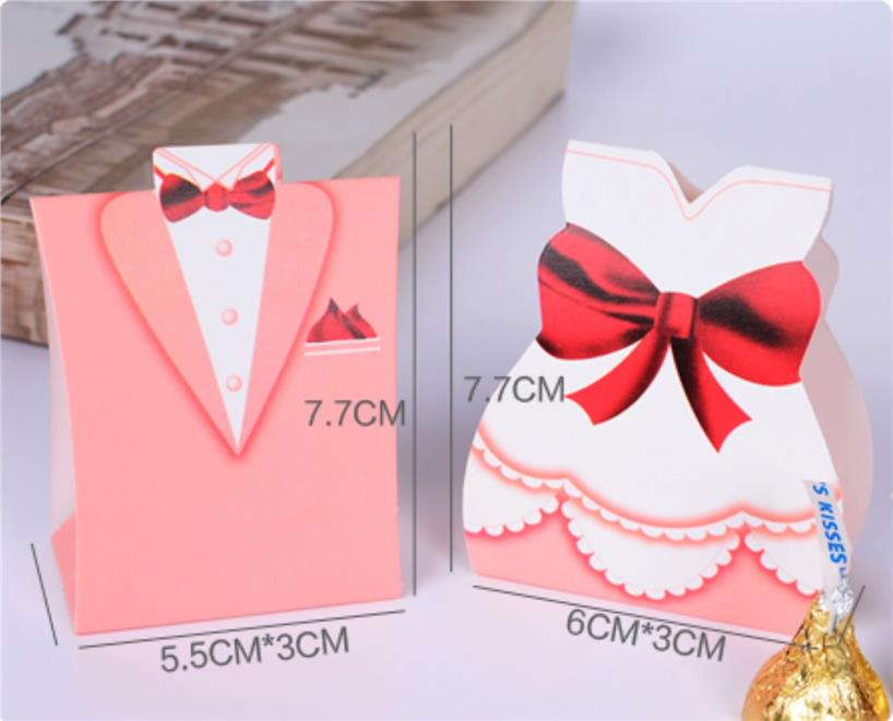 tuxedo and dress wedding gift box pair treat your wedding guests to ...