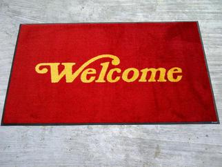 Welcome/Selamat Datang message Mats Made in USA