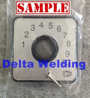 Welding machine Malaysia selector switch cover for wim