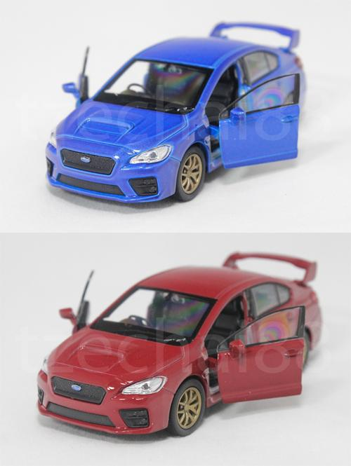Welly 1:34-1:39 Die Cast 2015 Subaru Impreza WRX STI Car 2 Color Model