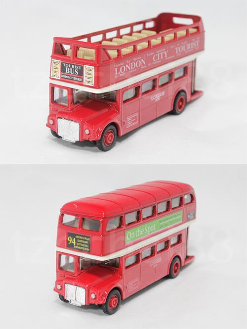 Welly 5 inch Die Cast AEC Routemaster London Bus Red Color Model New