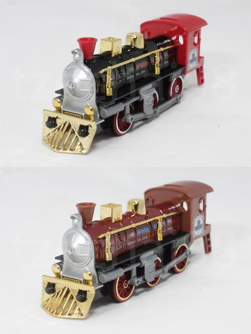 Welly 7 inch Die Cast Super Locomotive Train 2 Color Model Collection