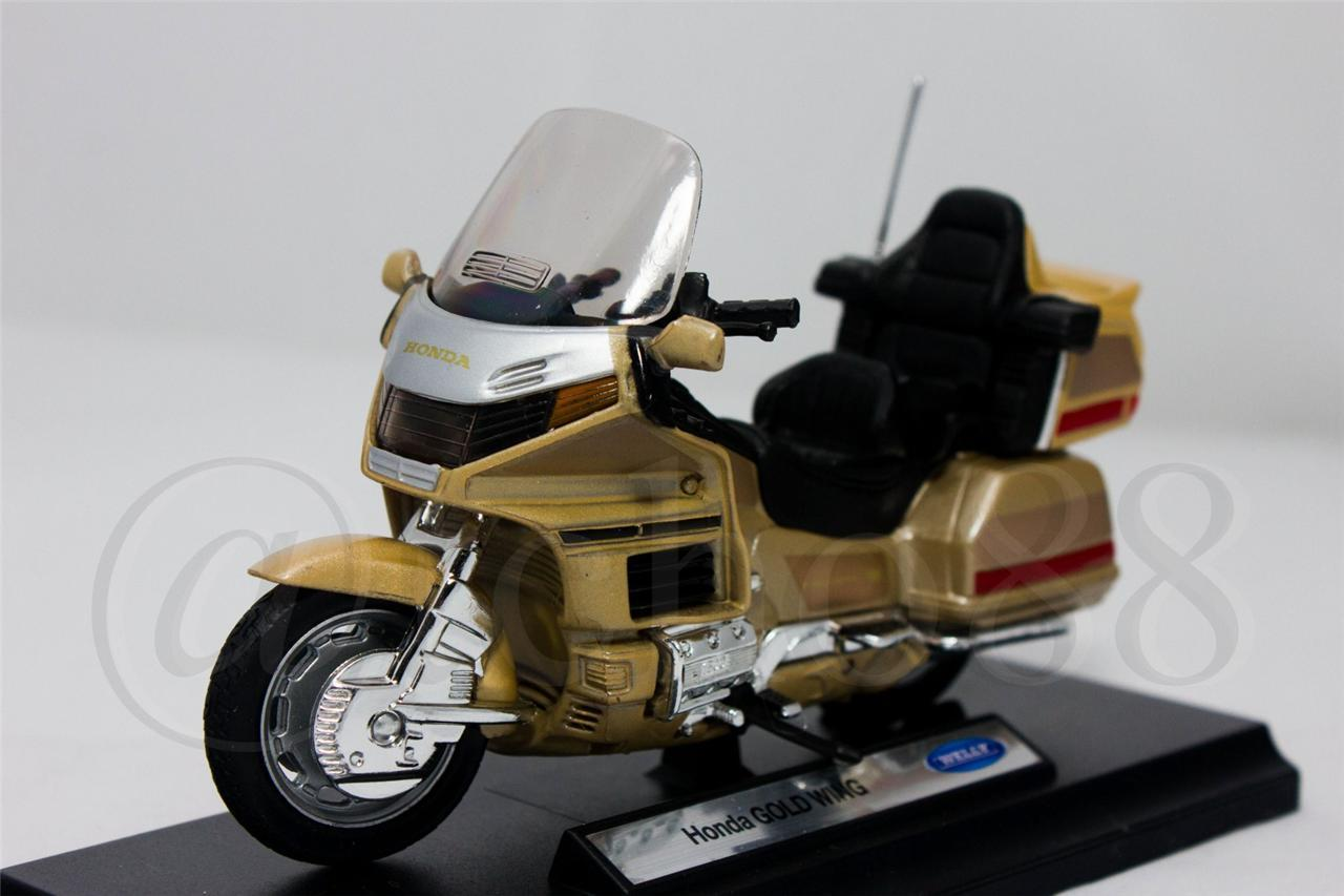 WELLY Die Cast Honda Gold Wing 1/18 Collection