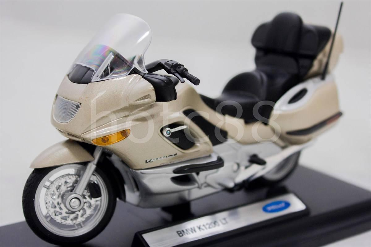 WELLY Die Cast Motorcycle Gold Welly BMW K1200 LT 1/18 Collection