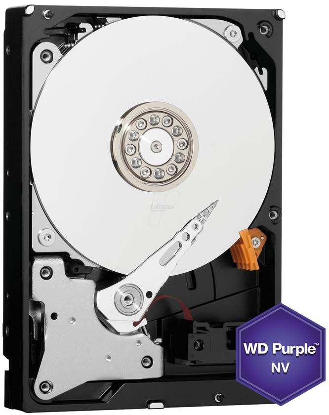 "WESTERN DIGITAL 3.5"" 6TB PURPLE NV 64MB SATA III WD6NPURX"