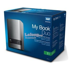 "WESTERN DIGITAL MY BOOK DUO 3.5"" 4TB (WDBLWE0040JCH-SESN)"