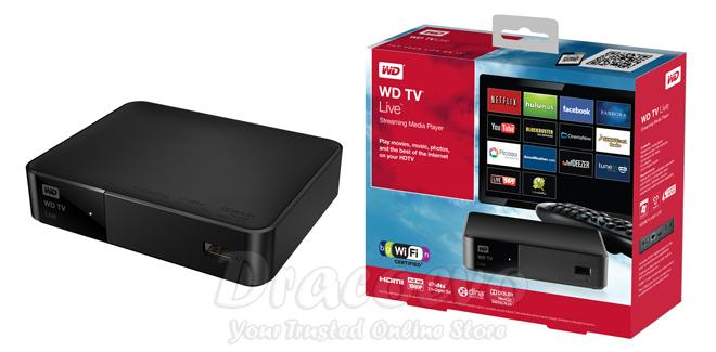western digital tv live streaming media player 1080p