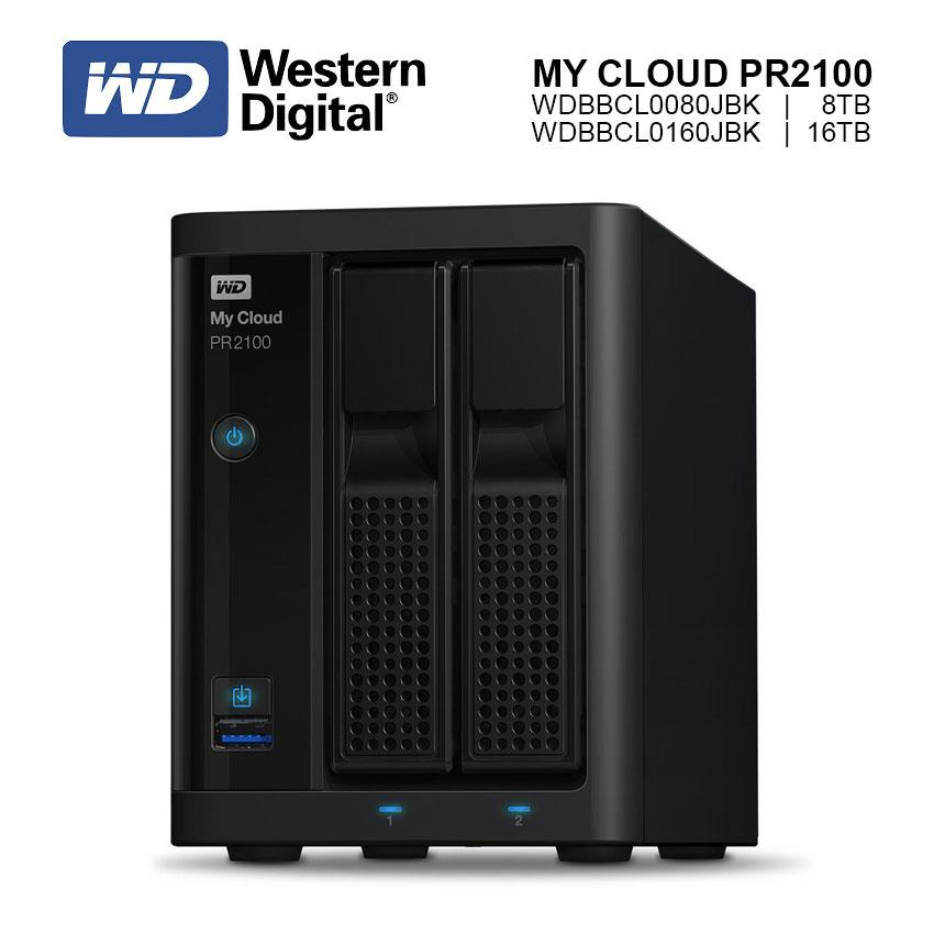 WESTERN DIGITAL WD My Cloud Pro PR2100 ( 8TB / 16TB ) Network Storage