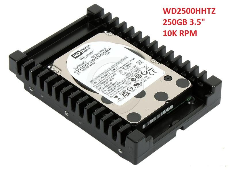 NEW Western Digital WD2500HHTZ 250GB 10K RPM 3.5' SATA Internal HDD