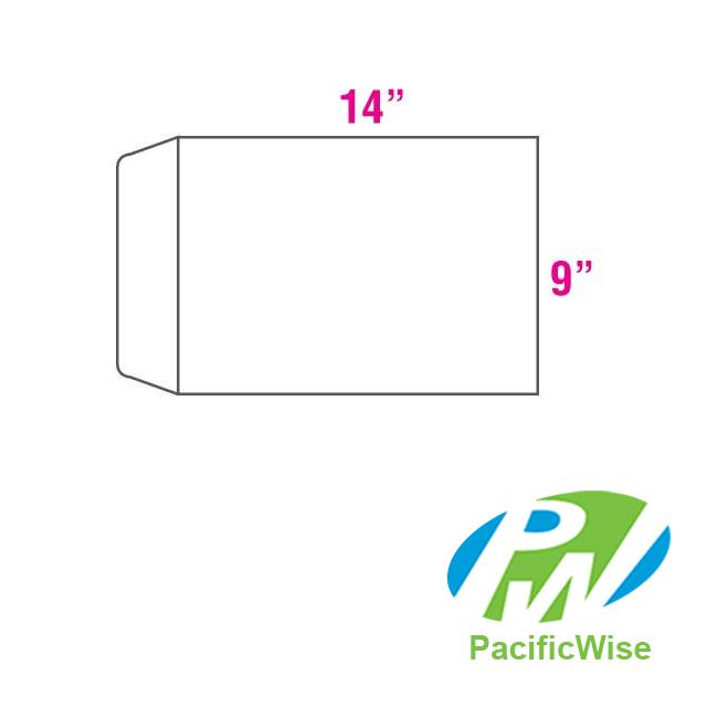 White Envelope 9' X 14' (250 pcs)