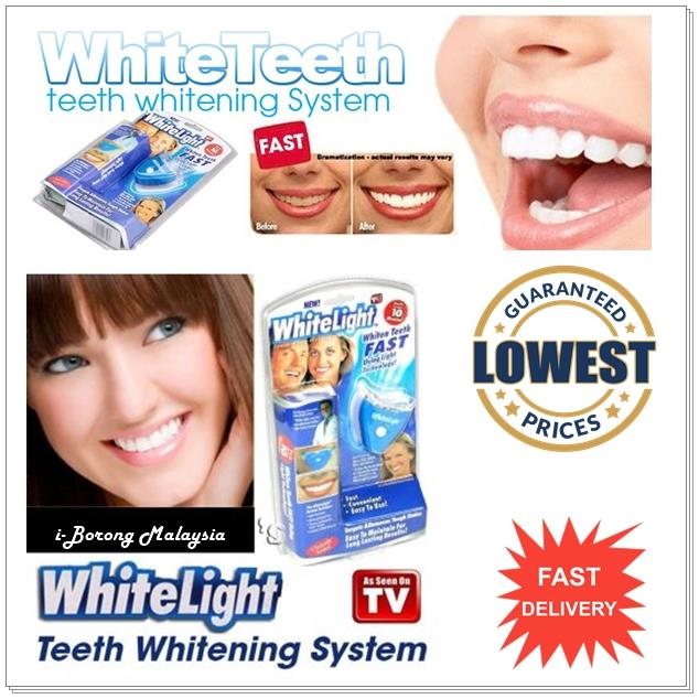 white light tooth teeth whitening system personal. Black Bedroom Furniture Sets. Home Design Ideas