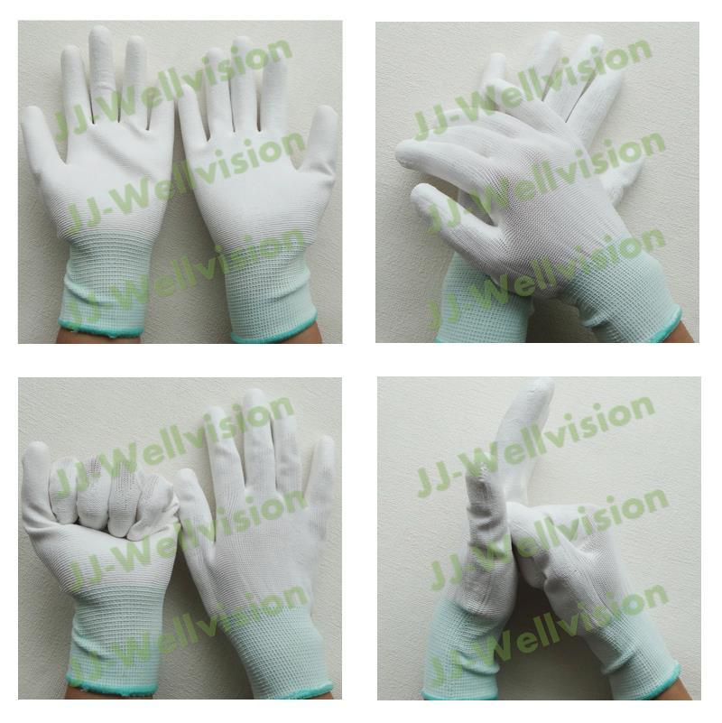 White PU General Purpose Palm Fit Coated Glove