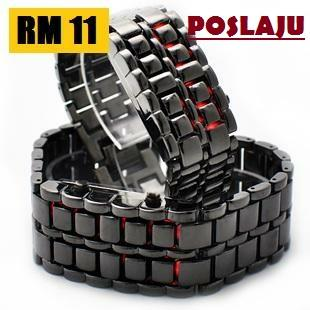 Wholesale Price - Iron Samurai Japanese Inspired LED Watch