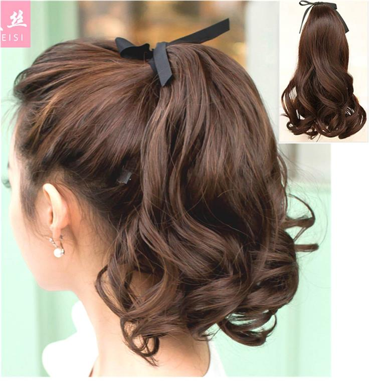 Wig Extension Pony Tail 35cm/ z1a/ ready stock