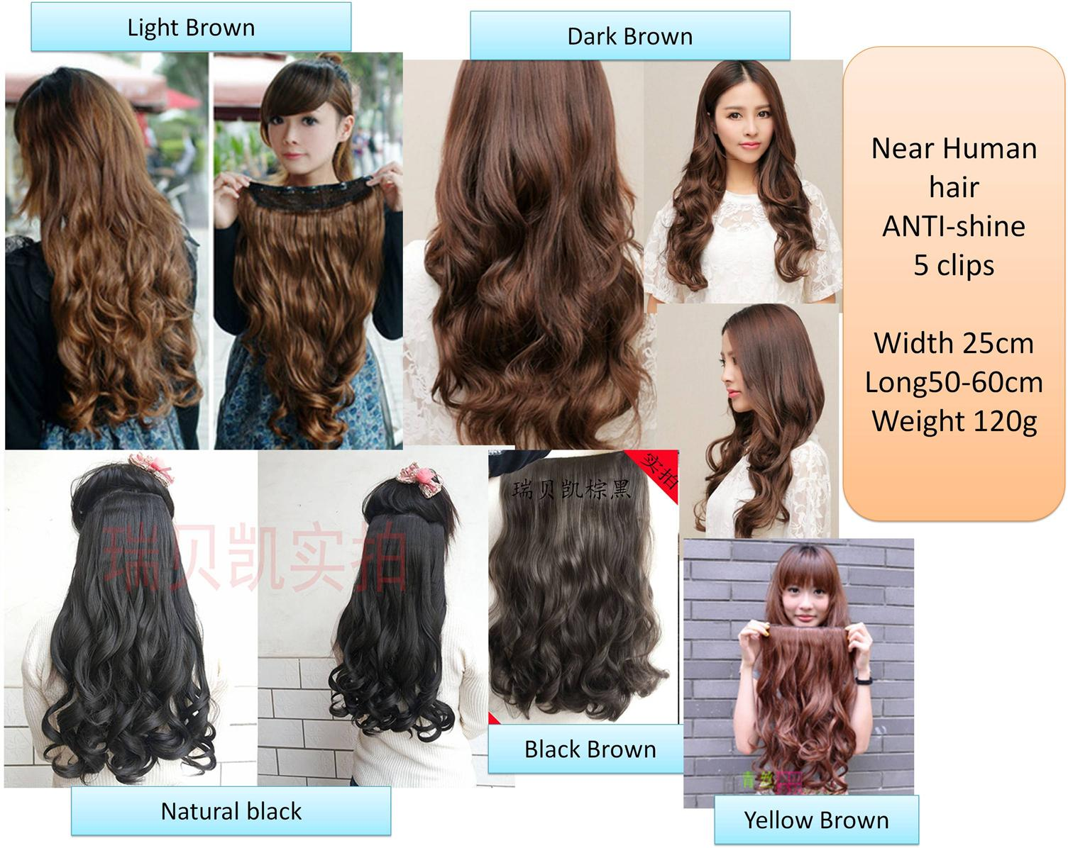 Wig Extension*z7 ready stock-rambut palsu