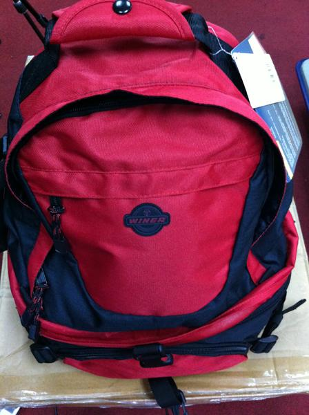 Winer T-07 RED Backpack Camera Bag Canon Nikon Sony Pentax