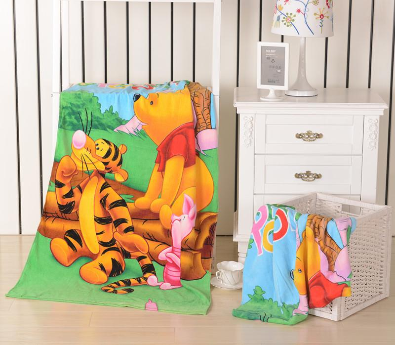 WINNIE THE POOH CARTOON BEACH TOWEL