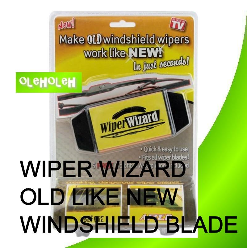 Wiper Wizard Old like New Windshield Blade Restorer