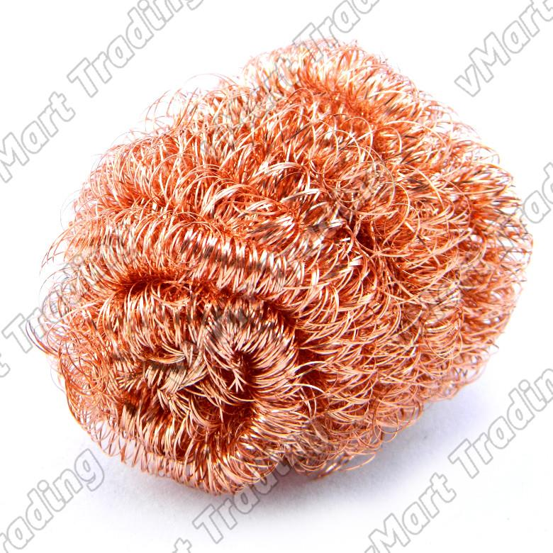 Wire Sponge for Cleaning Soldering Iron Tip [Copper]
