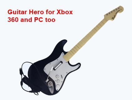 Wired Guitar for xbox30 and PC - Guitar Hero Rock Band