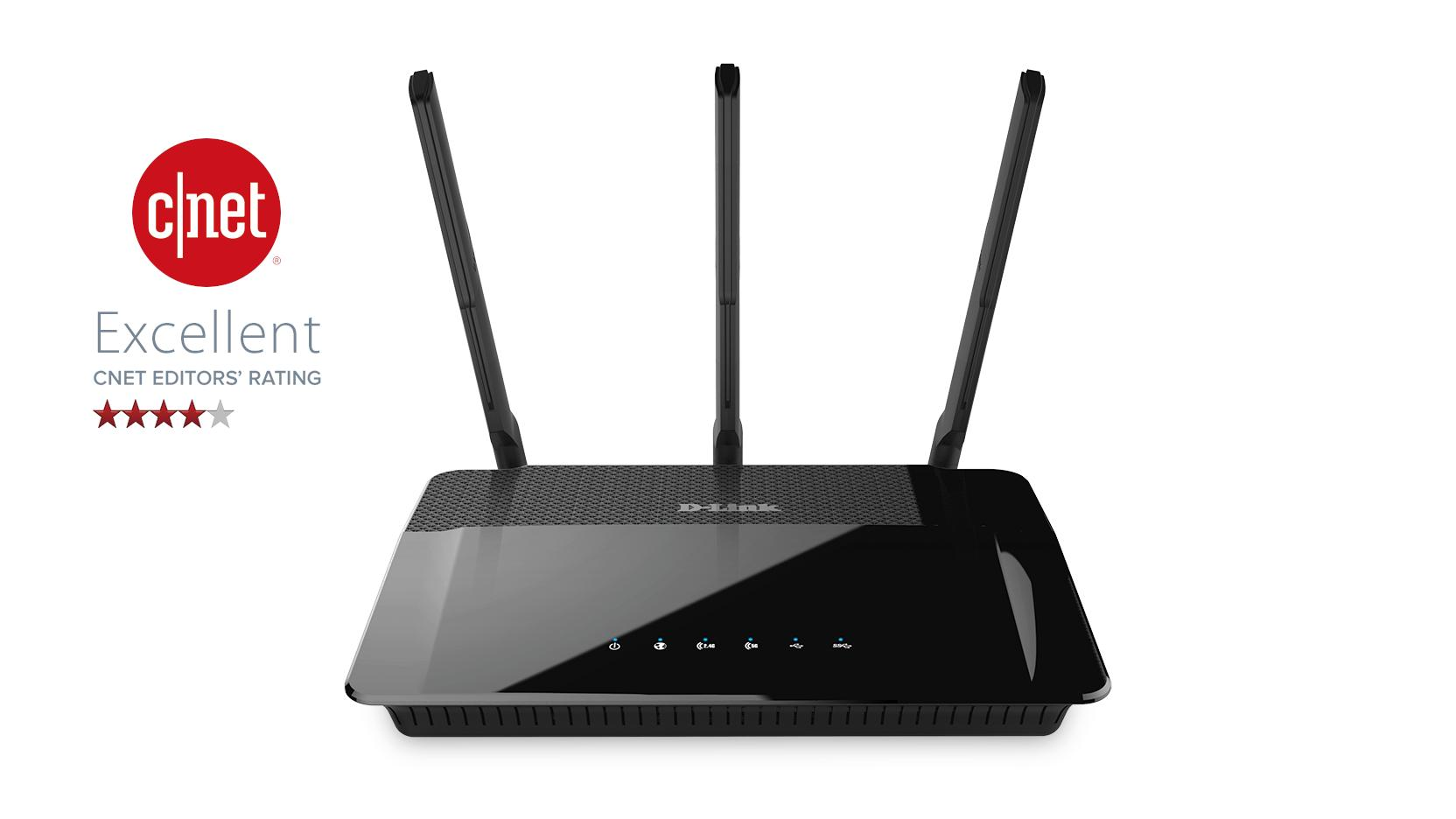 Wireless AC1900 Dual Band Gigabit Cloud Router