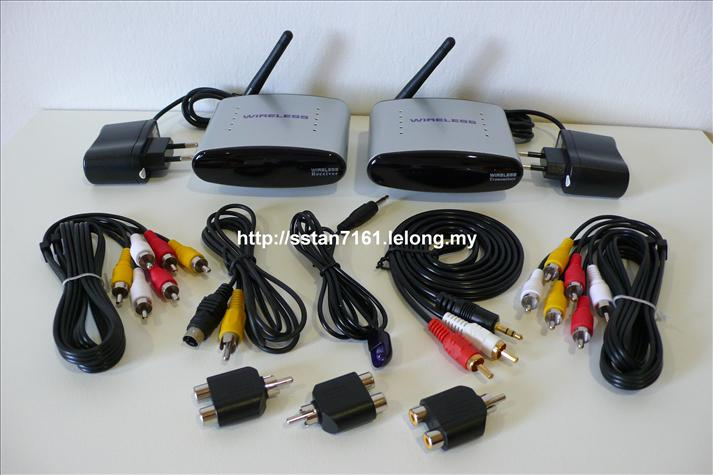Wireless AV Transmitter & Receiver for ASTRO/DVD/Multimedia Player