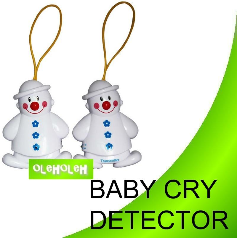 Wireless Baby Cry Detector Snowman Monitor Alarm Lovely