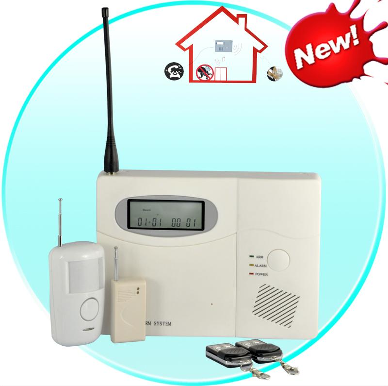 Wireless Control Alarm System for Homes, Offices, Businesses (100 Wire