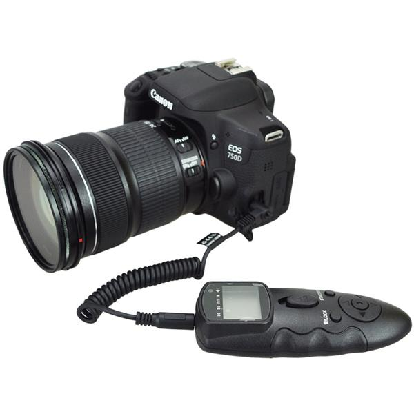 Wireless Intervalometer Timer Remote for Canon EOS 6D 7D MK II 50D 1Ds