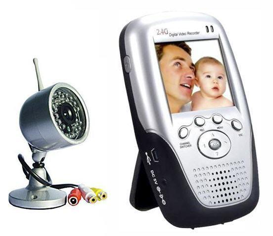 WIRELESS LCD RECORDER WITH NIGHTVISION AUDIO/VIDEO CAMERA (CCTV)!