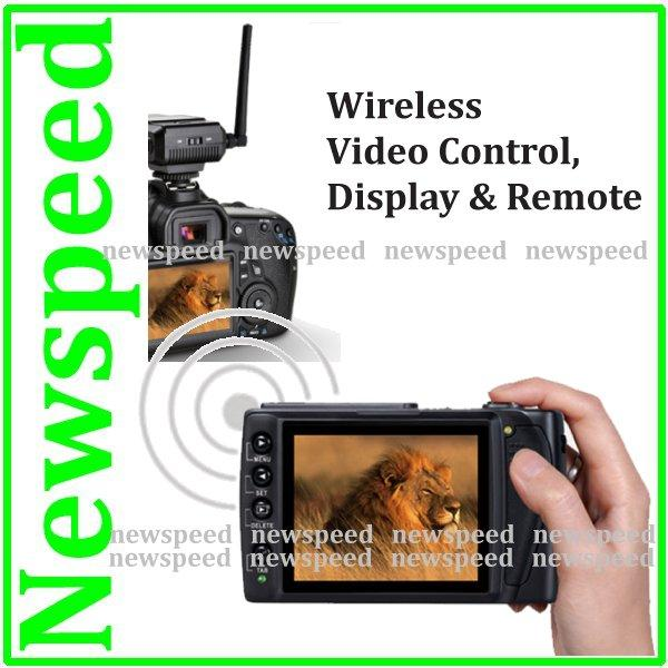 Wireless Live View  Display & Remote for Canon EOS 5D Mark II MK II