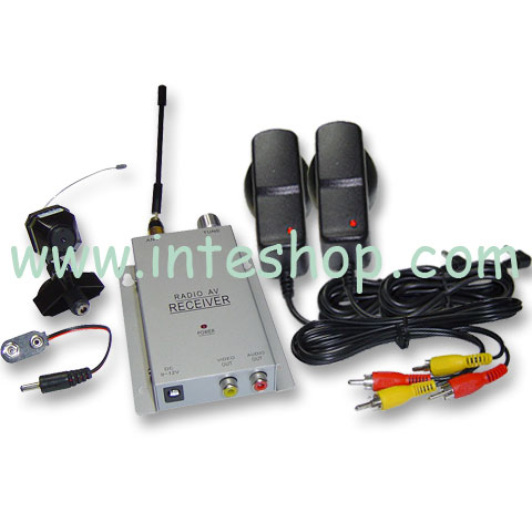 Wireless Mini Pinhole Camera Color Spy CAM CCTV System