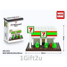 Wise Hawk City Builder Nanoblocks - 7 STORE
