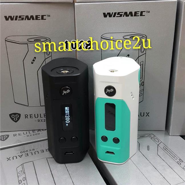Wismec Reuleaux RX200 Mod  Powered By Joyetech Chip