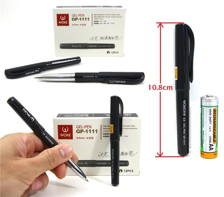 WOKE Gel Pen Short Pen Mini Pen 12pcs