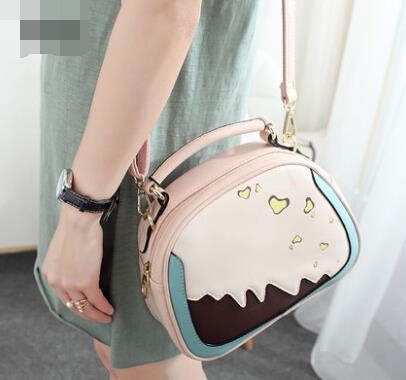 Women handbag small round Messenger bag shoulder bag