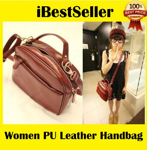 Women PU Leather Adjustable Handbag Cross Shoulder Bag 100% Good Quali