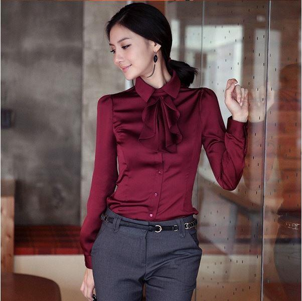 Women's Elegant Dress Shirt